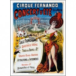CIRQUE:FERNANDO CONCERT...