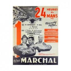 AUTO:1961 24 H du MANS...