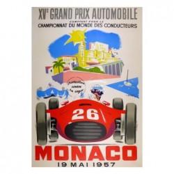 AUTO:1957 PRIX MONACO...