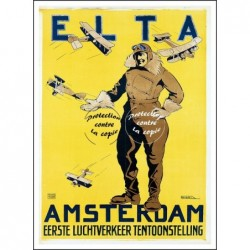 AVIATION:ELTA AMSTERDAM...