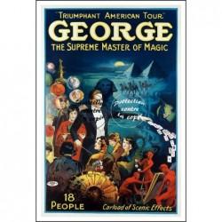 MAGIE:GEORGE MAGICIEN...