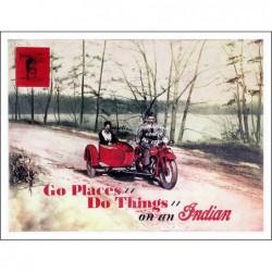 MOTO:SIDE CAR INDIAN...