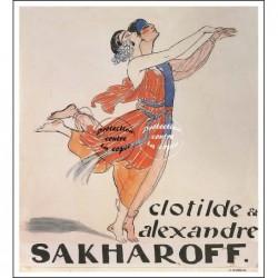 SPECTACLE:DANSEUR SAKHAROFF...