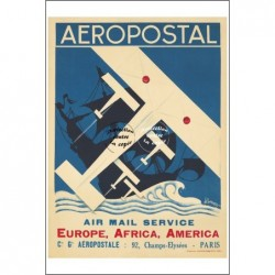 AVIATION:AéROPOSTAL...