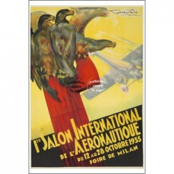 AVIATION:1935 SALON MILAN...