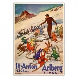 TOURISME:ST ANTON ARLBERG...