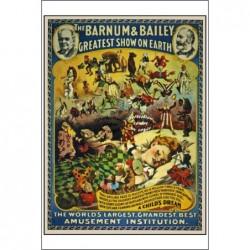 CIRQUE :BARNUM BAILEY...