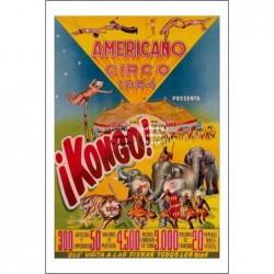 CIRQUE :1954 AMERICANO...