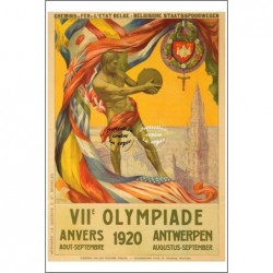 SPORT:1920 OLYMPIADE ANVERS...