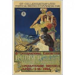 FêTE:1924 RUBBER TROPICAL...