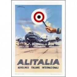 AVIATION:ALITALIA AéROLINEE...