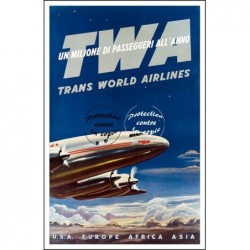 AVIATION:TWA USA EUROPE...