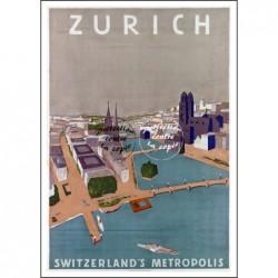 TOURISME:ZURICH SUISSE...