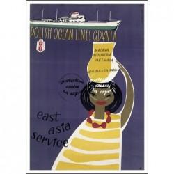 BATEAU:POLISH OCEAN LINES...