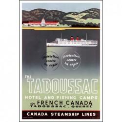 BATEAU:The TADOUSSAC CANADA...