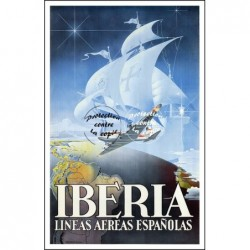 AVIATION:IBERIA LINEAS...