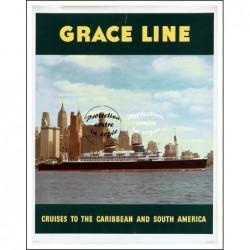 BATEAU:GRACE LINE...