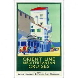 VOYAGE:ORIENT LINE CRUISES...