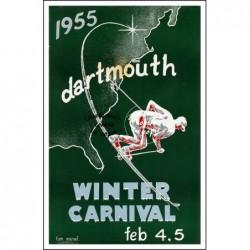 SPORT:1955 WINTER CARNIVAL...