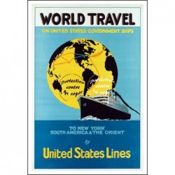 BATEAU:WORLD TRAVEL UNITED...
