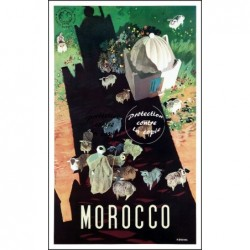 VOYAGE:MOROCCO-POSTER/REPRO...