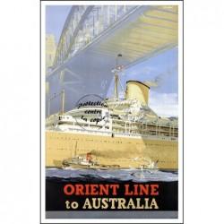 BATEAU:ORIENT LINE to...
