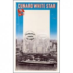 BATEAU:CUNARD WHITE STAR...
