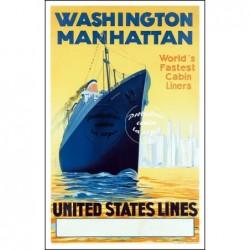 BATEAU:UNITED STATES LINES...