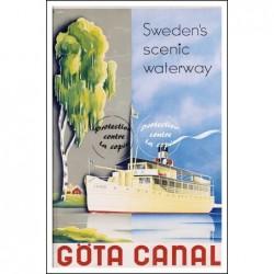 BATEAU:GÖTA CANAL...
