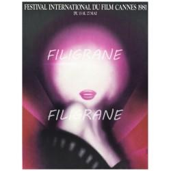 FESTIVAL de CANNES 1981 -...