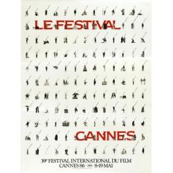 FESTIVAL de CANNES 1986 -...