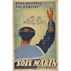WW2 PROPAGANDE Sois Marin...