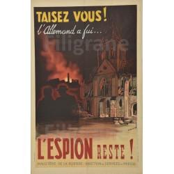 WW2 PROPAGANDE TAISEZ VOUS...