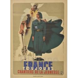 WW2 PROPAGANDE CHANTIERS de...