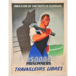 WW2 PROPAGANDE TRAVAILLEURS...