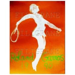 ROLAND GARROS 1990 TENNIS -...