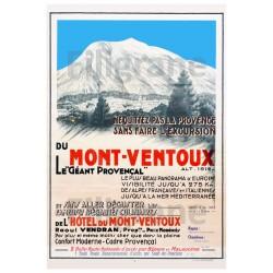 TOURISME : Le MONT VENTOUX...
