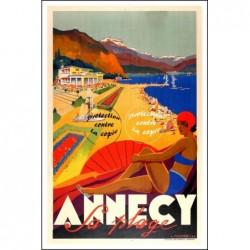 TOURISME : ANNECY la PLAGE...