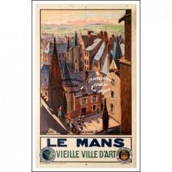 TOURISME : LE MANS VIEILLE...