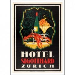 TOURISME : ZURICH HOTEL...