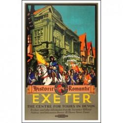 TOURISME : EXETER HISTORIC...