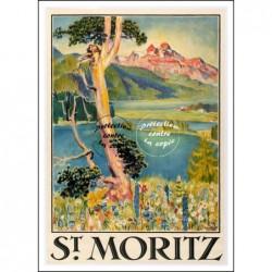 TOURISME : ST MORITZ SUISSE...