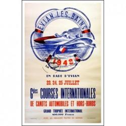 TOURISME : 1948 EVIAN les...