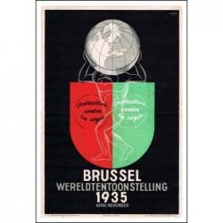TOURISME : 1935 BRUSSEL...