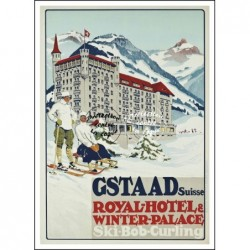 SKI : GSTAAD WINTER PALACE...