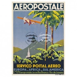 AVIONS/AIRLINES AEROPOSTALE...