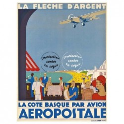 AIRLINES COTE BASQUE FLECHE...