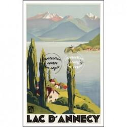 Le LAC D'ANNECY -...