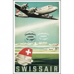 AVION : AéRIENNE SWISSAIR -...