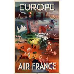 """AIR FRANCE : """"EUROPE"""" -..."""